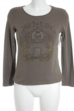 oui Moments Longsleeve mehrfarbig Casual-Look