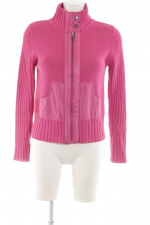 oui Moments Strickjacke pink Webmuster Casual-Look