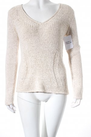 oui Moments Strickpullover creme Casual-Look