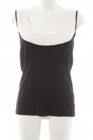 oui Moments Knitted Top black-oatmeal simple style