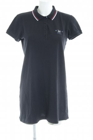 Oui Polo Dress dark blue casual look