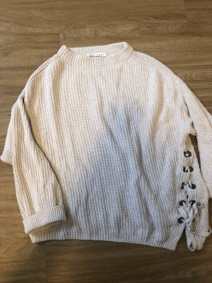 Oui Coarse Knitted Sweater multicolored