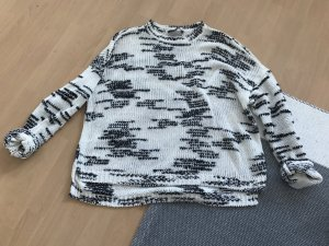 Oui Pullover Pulli Knit Marble Strick Oversized