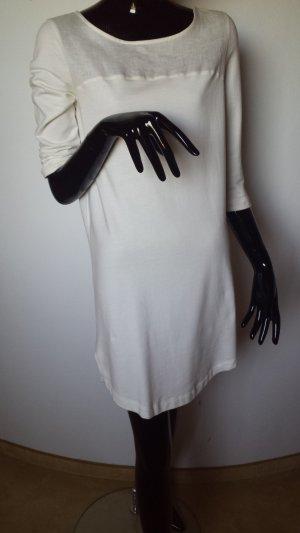 oui, pure Leinen, wollweißes Kleid Gr. 36