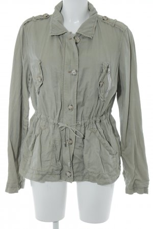 Oui Safarijacke khaki Animalmuster Safari-Look