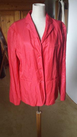 Oui-Set Blazer in kräftigem Rot, Gr. 42