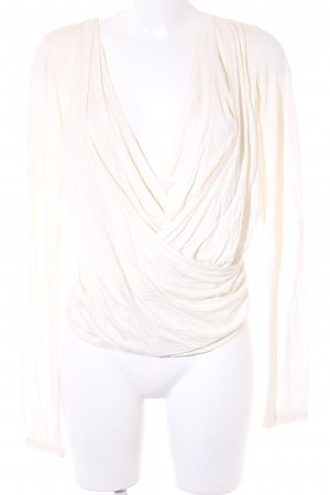 Oui Set Longsleeve creme Casual-Look