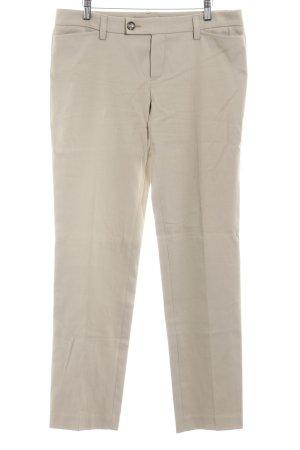 Oui Set Stoffhose beige Casual-Look
