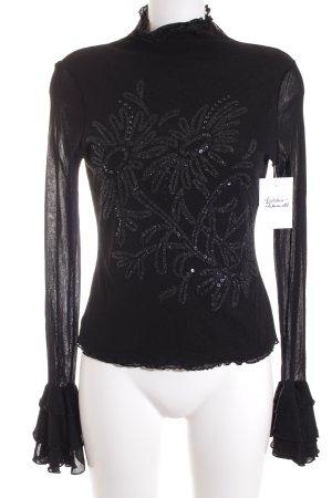 Oui Shirt schwarz Elegant