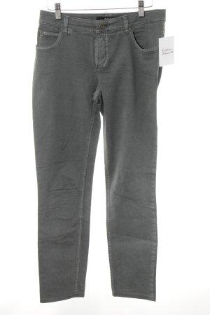 Oui Slim Jeans grau Casual-Look