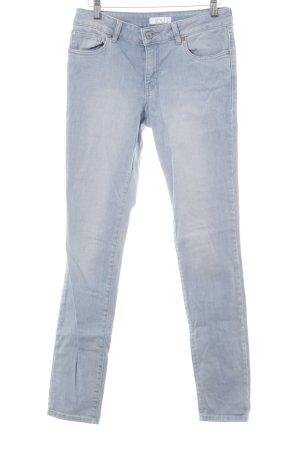 Oui Slim Jeans hellblau Casual-Look