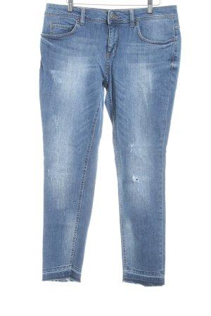 Oui Slim Jeans himmelblau Casual-Look