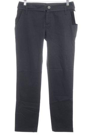 Oui Pantalone jersey nero stile casual