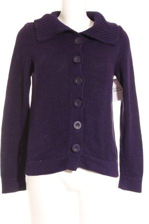 Oui Maglione lavorato a maglia lilla stile casual