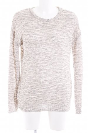 Oui Strickpullover meliert Casual-Look
