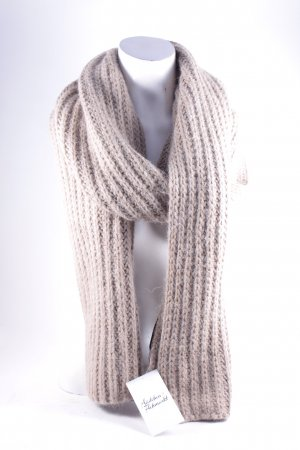 Oui Knitted Scarf beige casual look