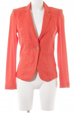 Oui Sweat Blazer bright red casual look