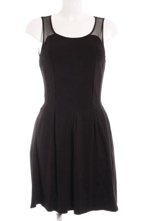Oui Trägerkleid schwarz Elegant
