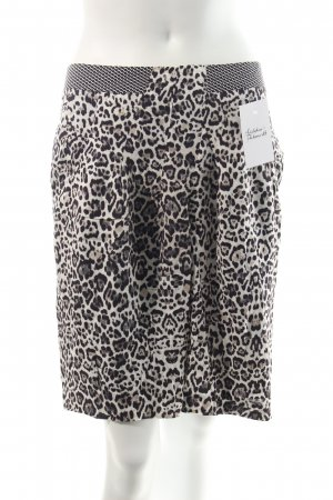 Oui Tulip Skirt multicolored animal print