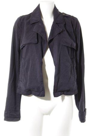 Oui Übergangsjacke dunkelblau Street-Fashion-Look