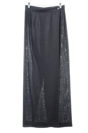 OuiSet Hosenrock schwarz 60ies-Stil
