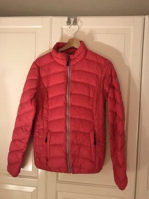 Down Jacket magenta polyamide