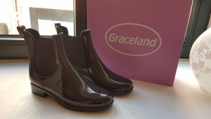 Graceland Low boot noir matériel synthétique