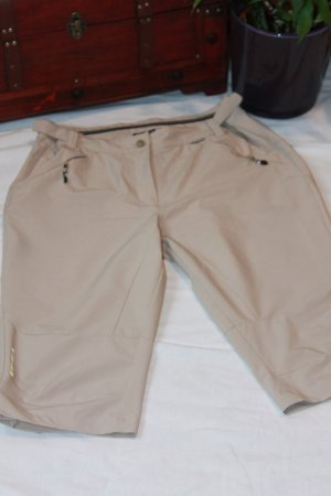 OUTDOOR ICEPEAK - Sport Caprihose - beige Hose in Größe 40