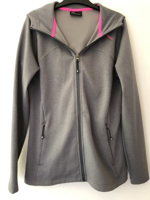Peak performance Outdoor Jacket silver-colored polyester