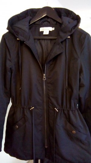 H&M L.O.G.G. Outdoor Jacket black cotton