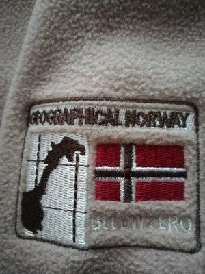 Geographical Norway Veste d'extérieur crème