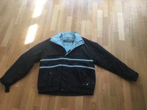 Outdoor jack donkerblauw-staalblauw