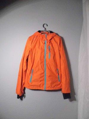 Outdoor Regenjacke Übergangsjacke Rotorange Gr M / L Eight2Nine Denim