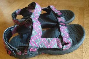 Jack Wolfskin Sandale d'extérieur noir-rose