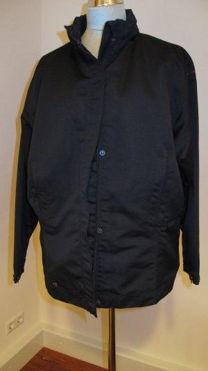 Veste d'extérieur noir polyester
