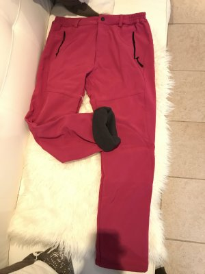 Thermal Trousers magenta polyester