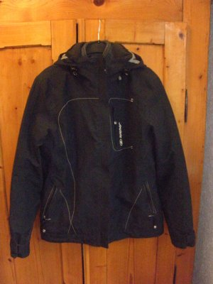 Ziener Double Jacket black-anthracite polyester