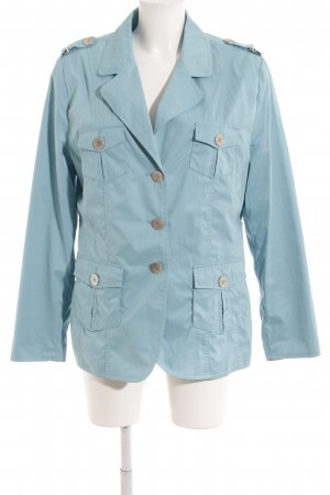 Veste d'extérieur bleu clair style décontracté