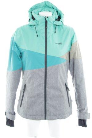 Outdoor Jacket color blocking casual look