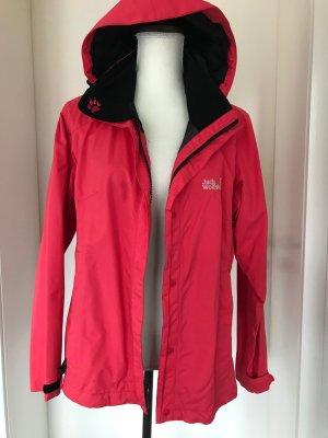Jack Wolfskin Outdoor Jacket raspberry-red