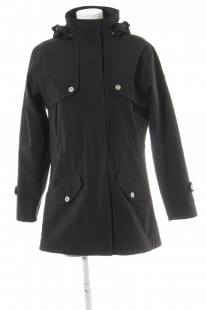 Outdoor Jacket black athletic style