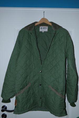 Outdoorjacke, von Husky (England), winddicht, waldgrün, gesteppt, S