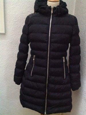 Quilted Coat black polyester