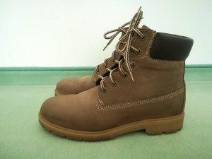 Bartu Desert Boots light brown-dark brown leather