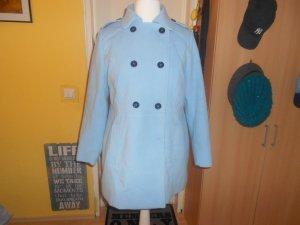 Outerwear (C&A)- blauer Mantel Gr.48