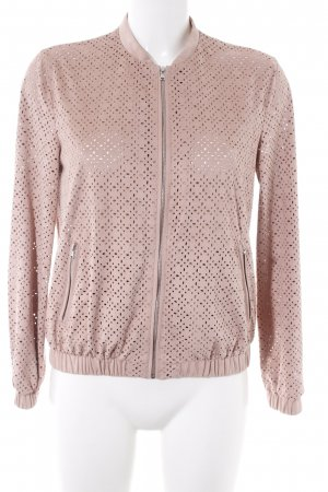 outerwear Sweatjacke altrosa Casual-Look
