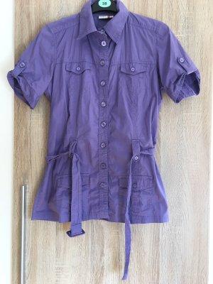Blouse à manches courtes violet