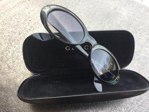 Ovale Gucci Sonnenbrille im 70iger Vintage Stil