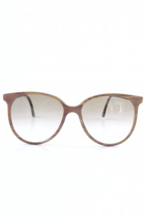 Oval Sunglasses light brown-taupe street-fashion look