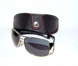 Esprit Oval Sunglasses black synthetic material